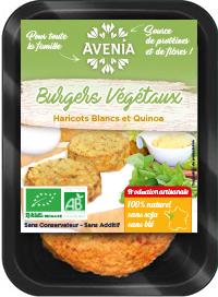 Burgers Haricots Blancs & Flocons de Quinoa