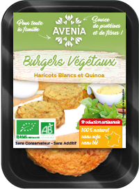 burger haricot blanc quinoa