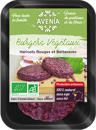 burger haricots rouge betteraves