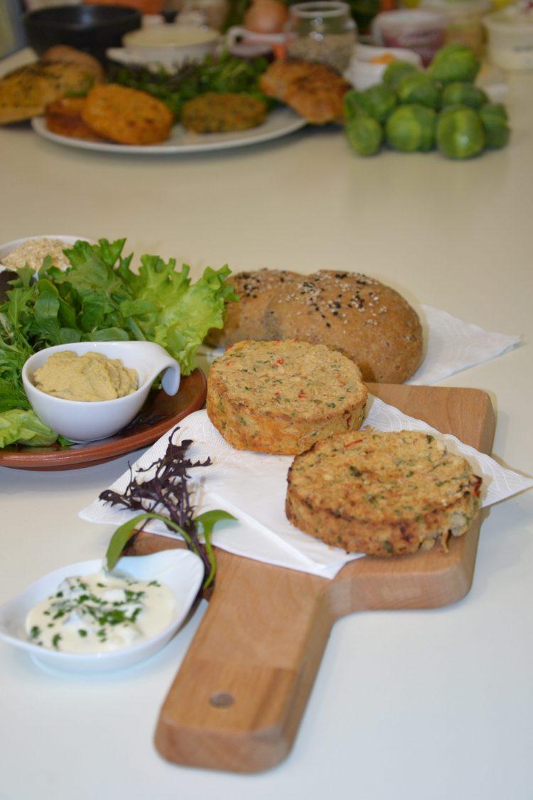 Burger Végétal Haricots blancs & Quinoa