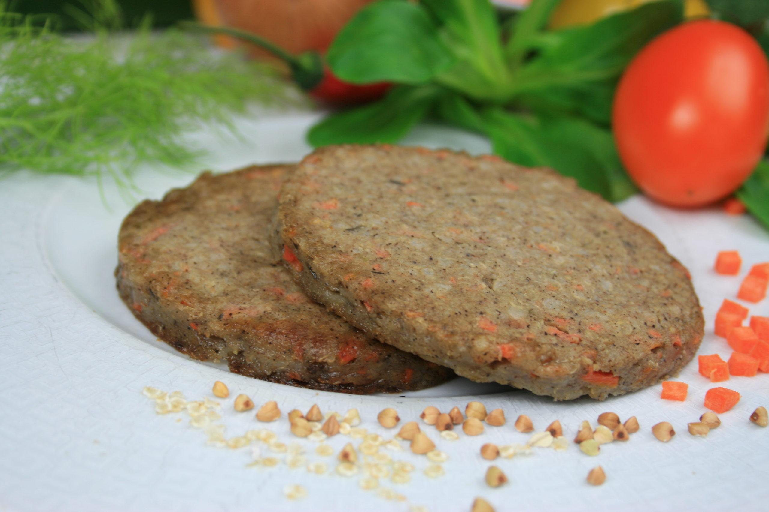 Galette Végétale Sarrasin, Carottes & Quinoa